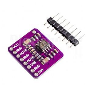 Amplificatore audio stereo per cuffie 60+60mW