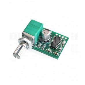 Amplificatore stereo con volume 3+3W, XH-M177