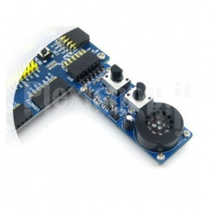 Analog Test Board Waveshare per AD/DA testing