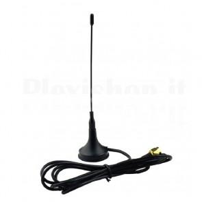 Antenna a ventosa a 433MHz, 3.0dB 10W