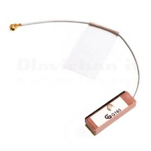 Antenna GPS attiva in ceramica con connettore IPEX, 20 x 6 x 4mm