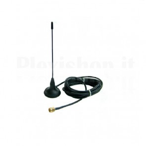 Antenna GSM 900-1800Mhz con base magnetica