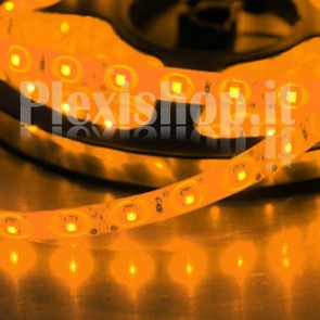 ARANCIO - Bobina Striscia LED SMD 3528 60 Led/Metro IP65