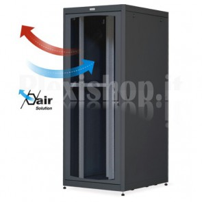 Armadio Server Rack 19'' 800x1000 42U Nero Porta Grigliata