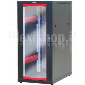 Armadio Server Rack 19'' 600x1000 27 Unità Nero serie IdealNET