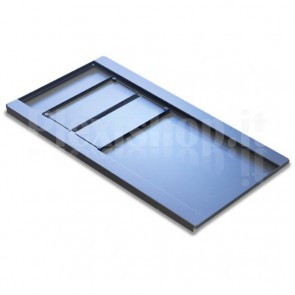 Base per Armadi Flat Pack Rack 19'' 800x1000 mm Colore Nero