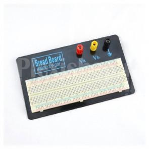 Basetta sperimentale breadboard ZY-201, 830 fori