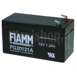 Batteria al Piombo 12V 1,2Ah (Faston 4,8mm destra)