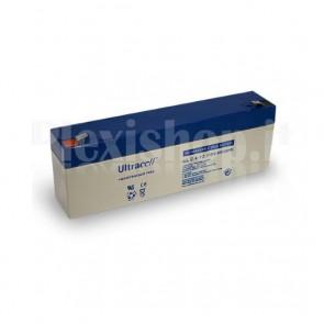 Batteria al Piombo 12V 2,4Ah, UL 2.4-12 (Faston 187 - 4,8mm)