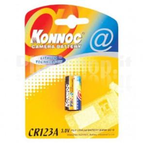 Batterie al Litio per Fotocamere Batteria al Litio 3V CR123A