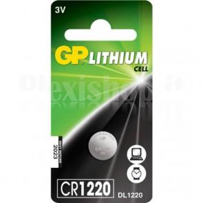 Blister 1 Batteria a bottone CR1220