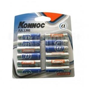 Blister 12 Batterie Stilo AA Alcaline LR06