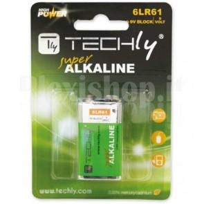 Blister 1 Batteria High Power Alcalina 6LR61 9V
