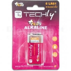 Blister 1 Batteria Power Plus Alcalina 6LR61 9V