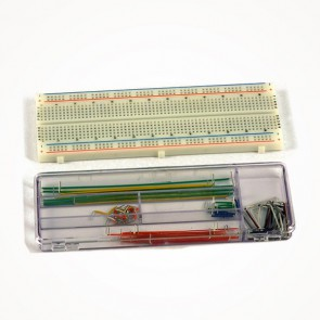 Breadboard con kit fili