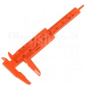 Calibro in materiale plastico 0-80mm