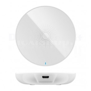 Caricabatterie Wireless Fast Qi Stand 5W Bianco