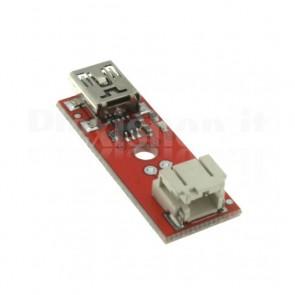 Caricatore LiPo USB, 3.7V 500mA