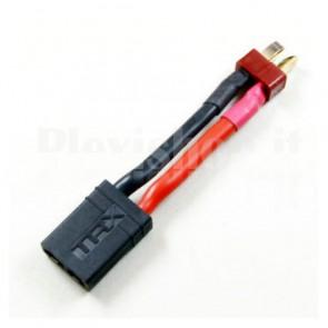 Cavetto adattatore da Deans T-Plug a TRX per elementi Li-Po, M-F