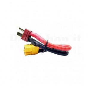 Cavetto adattatore da Deans T-Plug a XT60 per elementi Li-Po, M-F