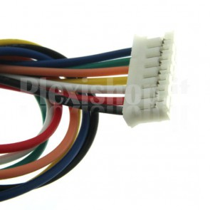 Cavetto multicolore terminato con connettore PH2.0‐7P, 7 poli