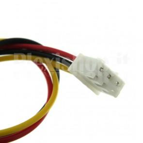 Cavetto multicolore terminato con connettore XH2.54‐3P, 3 contatti
