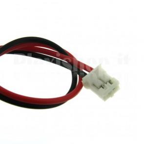 Cavetto bicolore terminato con connettore PH2.0‐2P, 2 poli