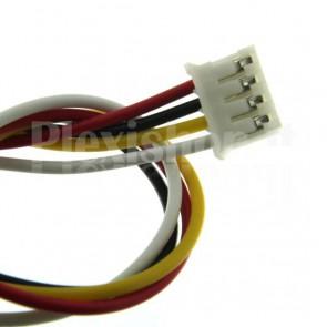 Cavetto multicolore terminato con connettore PH2.0‐4P, 4 poli