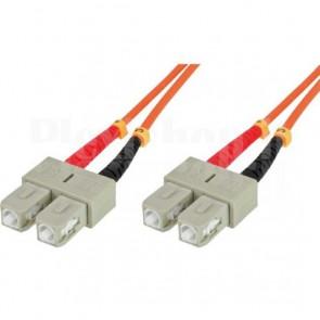 Cavo fibra ottica SC/SC 50/125 Multimodale 20 m OM2