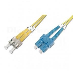 Cavo fibra ottica ST/LC 9/125 Monomodale 5 m OS2