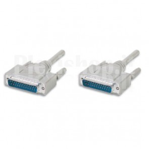 Cavo Seriali/Paralleli M/M D-Sub 25p. 1,8 m