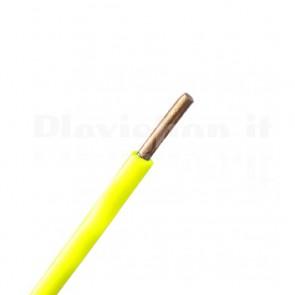 Cavo Solid Core 0,22 mmq Giallo - 100m