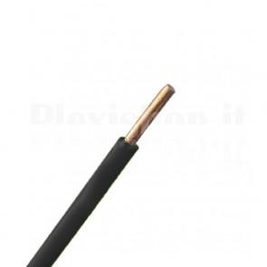 Cavo Solid Core 0,22 mmq Nero - 100m