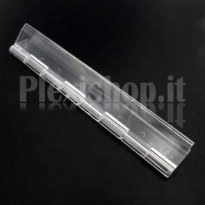 Cerniera trasparente in Plexiglass 150x42mm