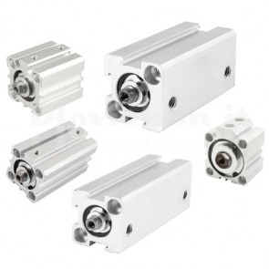 Cilindro pneumatico a doppia azione SDA25-50