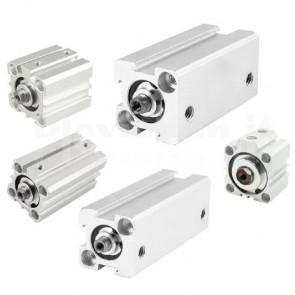 Cilindro pneumatico a doppia azione SDA25-100