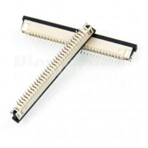 Connettore SMT da circuito stampato per cavo piatto FFC / FPC , 30P passo 1.0mm