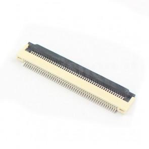 Connettore SMT da PCB per cavo piatto FFC / FPC , 50P 0.5mm