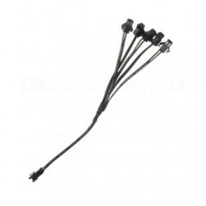 Connettore Splitter per Filo Elettroluminescente da 1 a 5