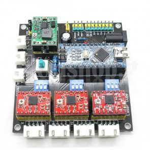 Controller USB per CNC laser completo di driver per stepper sino a 2A