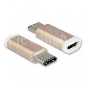 Convertitore Adattatore da USB-C a Micro USB B