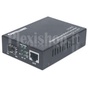 Convertitore RJ45 10/100/1000 Gigabit Ethernet slot SFP
