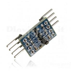 Convertitore bidirezionale di livelli logici I2C 3.3-5Vcc per Arduino