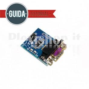 Convertitore seriale RS232 - TTL