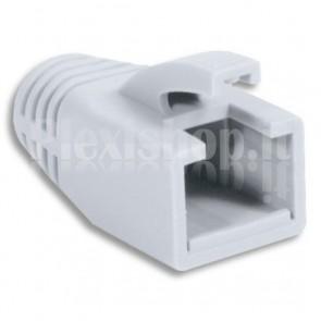 Copriconnettore per Plug RJ45 Cat.6 8mm Bianco