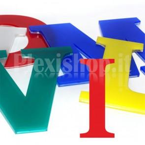 Cover per lettere luminose - I