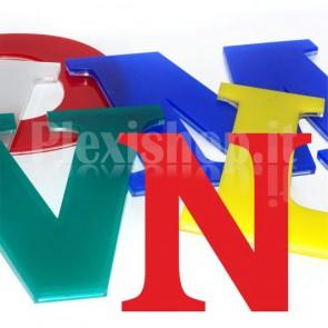 Cover per lettere luminose - N