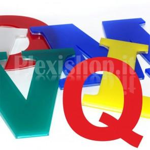 Cover per lettere luminose - Q
