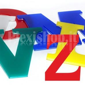 Cover per lettere luminose - Z