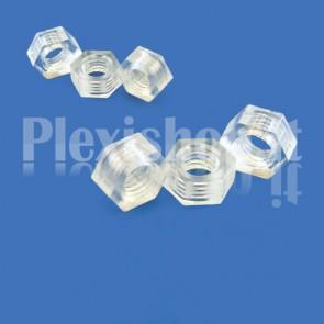 Dadi plexiglass trasparente 5.8